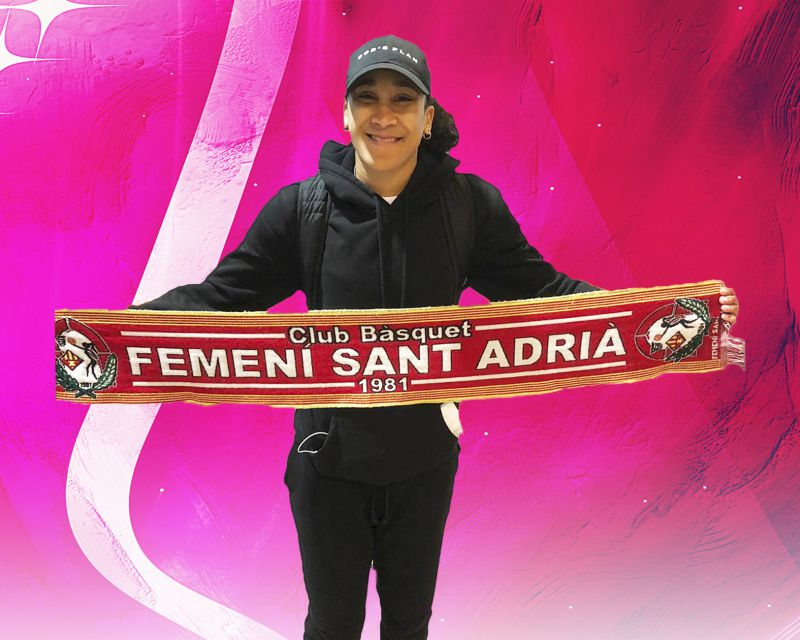 MEIGHAN SIMMONS has signed with Femení Sant Adrià